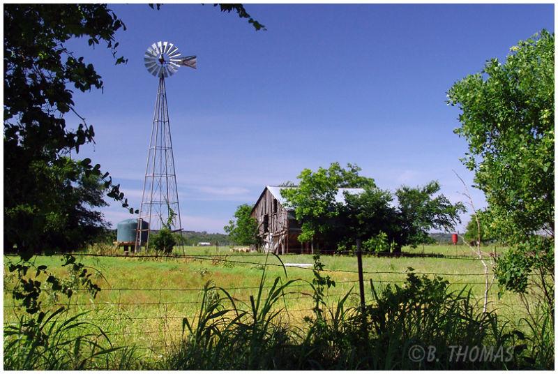 Old Barn & Windmill