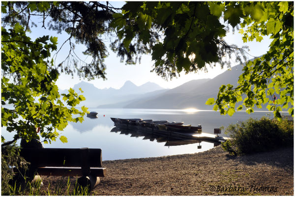 Lake McDonald Morning
