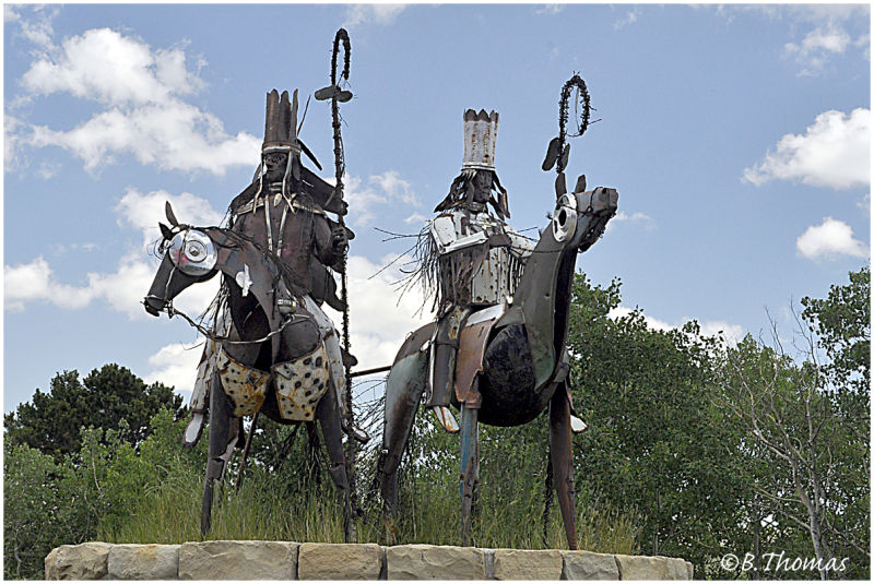 Blackfeet Sentries