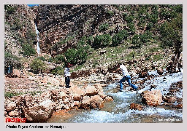 Nozhiyan  Waterfall 4
