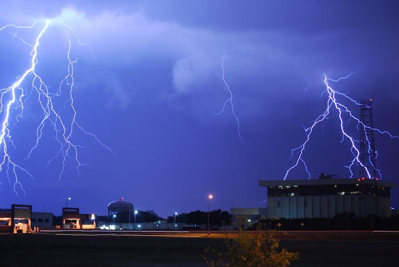 Lightening Storm Dallas Texas