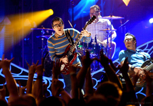Weezer performs in Orlando.