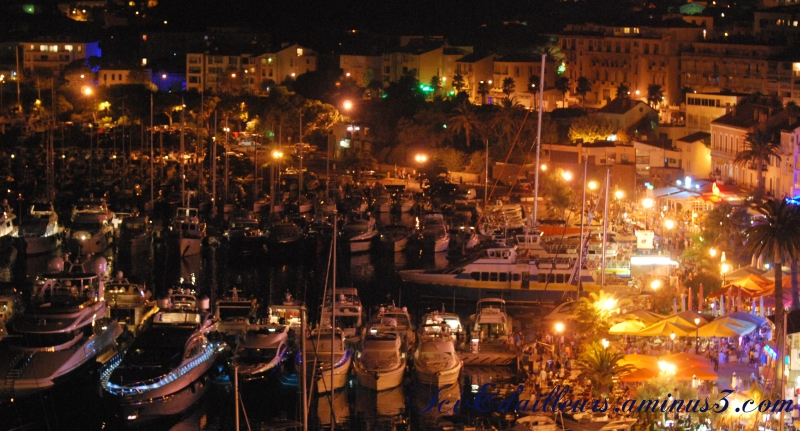 Calvi by night...