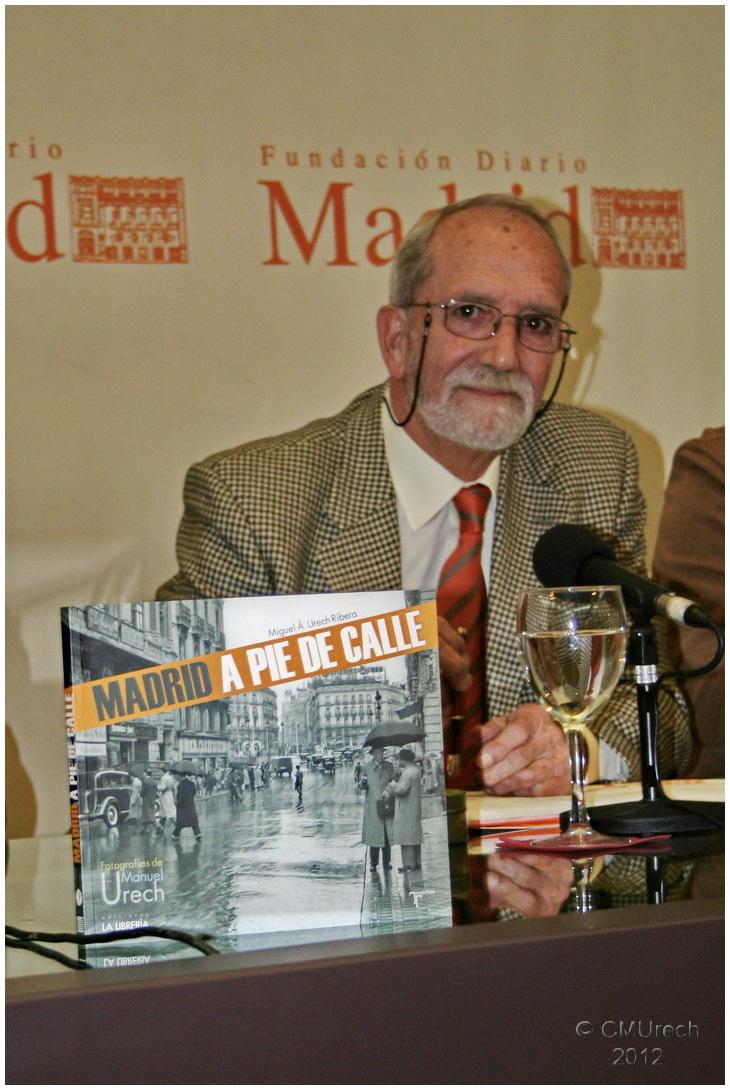 Presentación del libro 'Madrid a pie de calle'