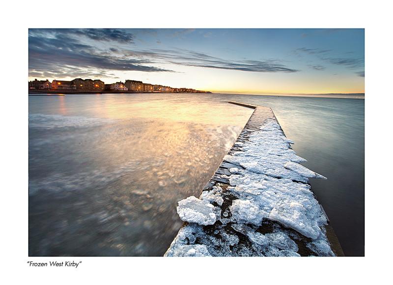west kirby frozen winter