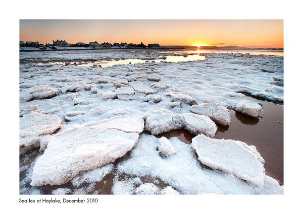 Sea Ice at Hoylake