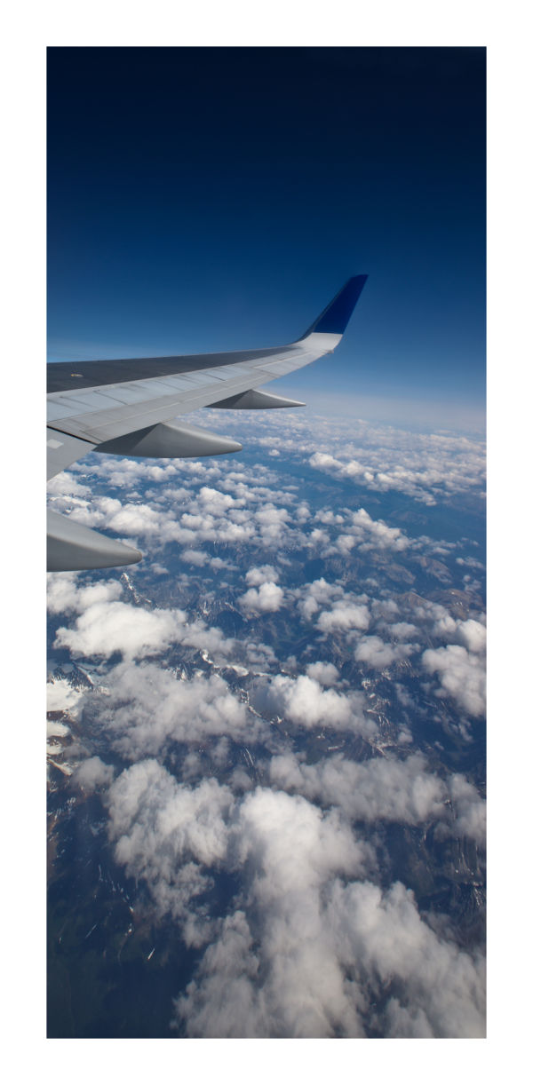 birdview, clouds, panorama, plane