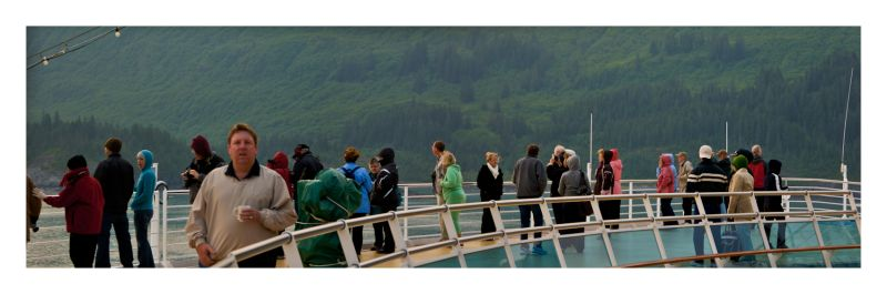 Alaska Wednesday; The people (panorama)