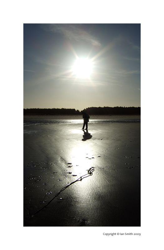 Silhouette, Holkham Beach, Norfolk
