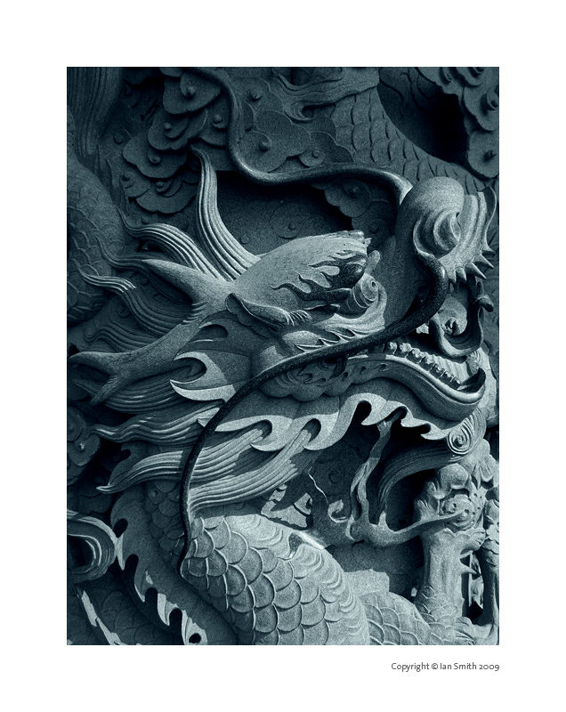 Po Lin Monastery Carving