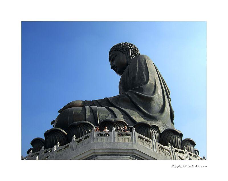 Giant Buddha Lantau Island