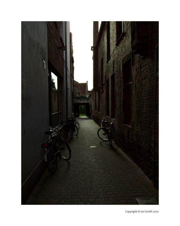 Back Alleyway, Bruges