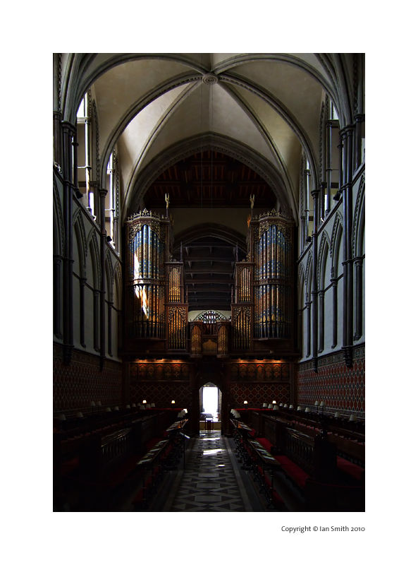 Inside Rochester Cathedral