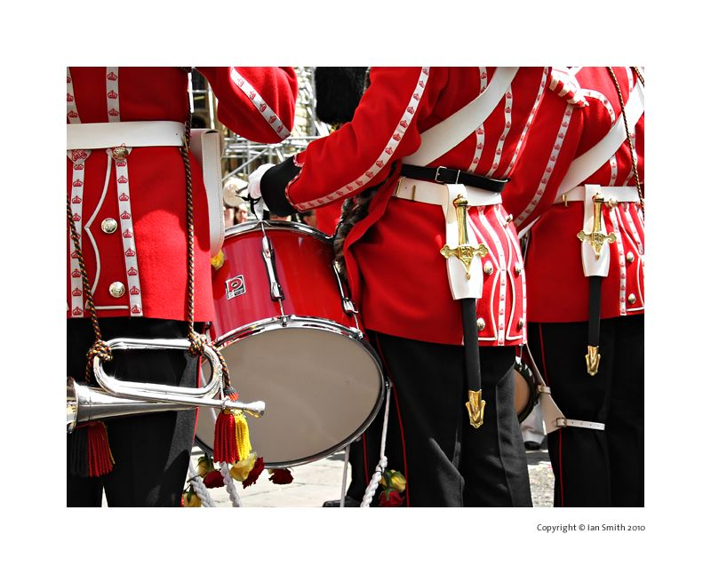 Band at the Tower of London