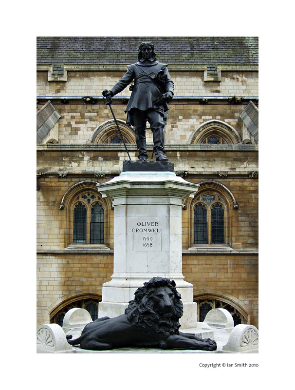 Oliver Cromwell Statue, Westminster