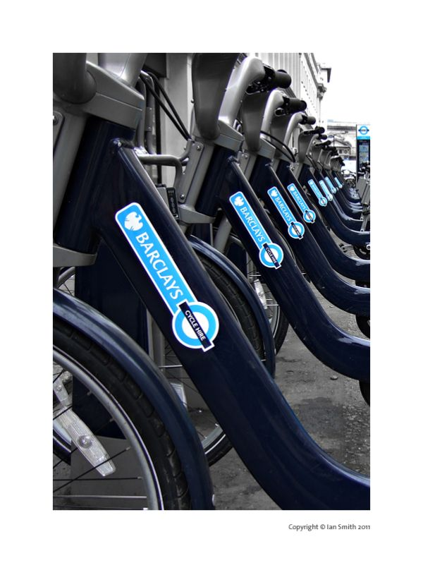 Boris Bikes, William IV Street