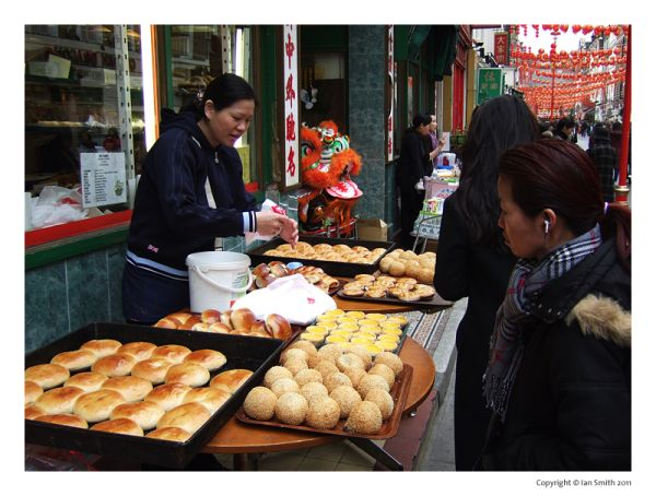 Cantonese Bakery, London Chinatown