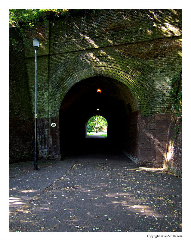 Dark Tunnel in Chinbrook Meadow