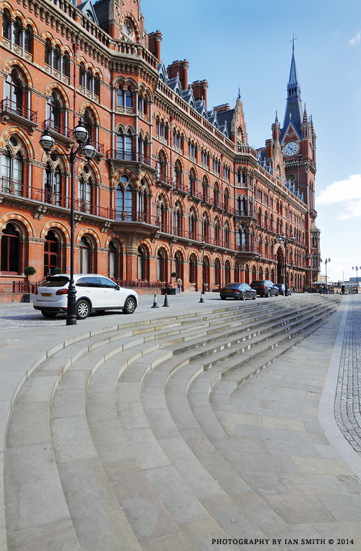 St Pancras International Railway Station