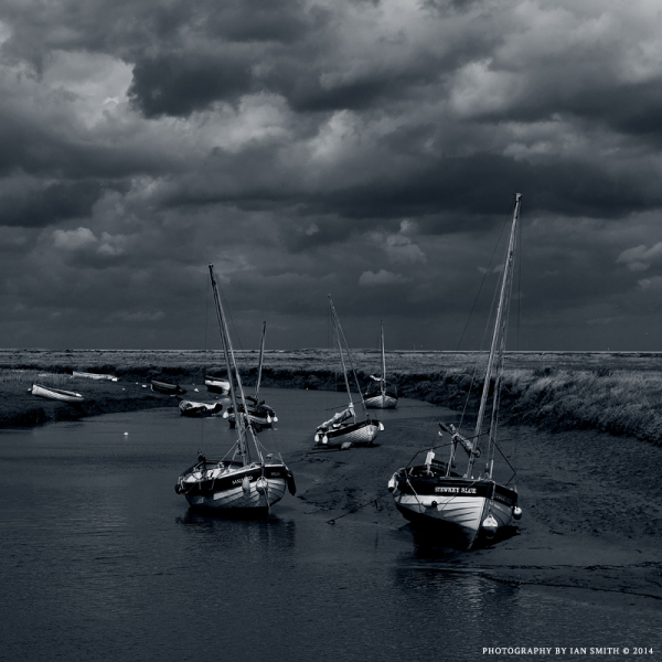 Low Tide at Blakeney, Norfolk