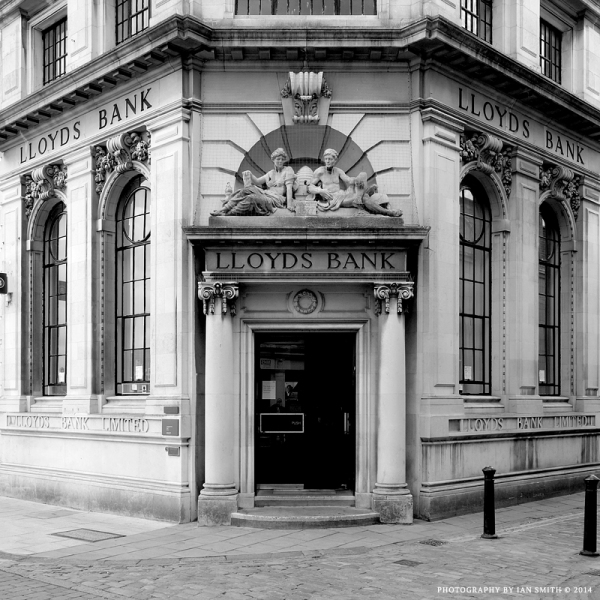 Lloyds Bank, King's Lynn, Norfolk