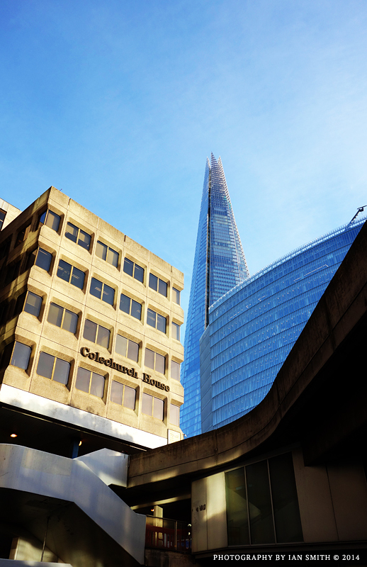 View from Tooley Street of the Shard, London