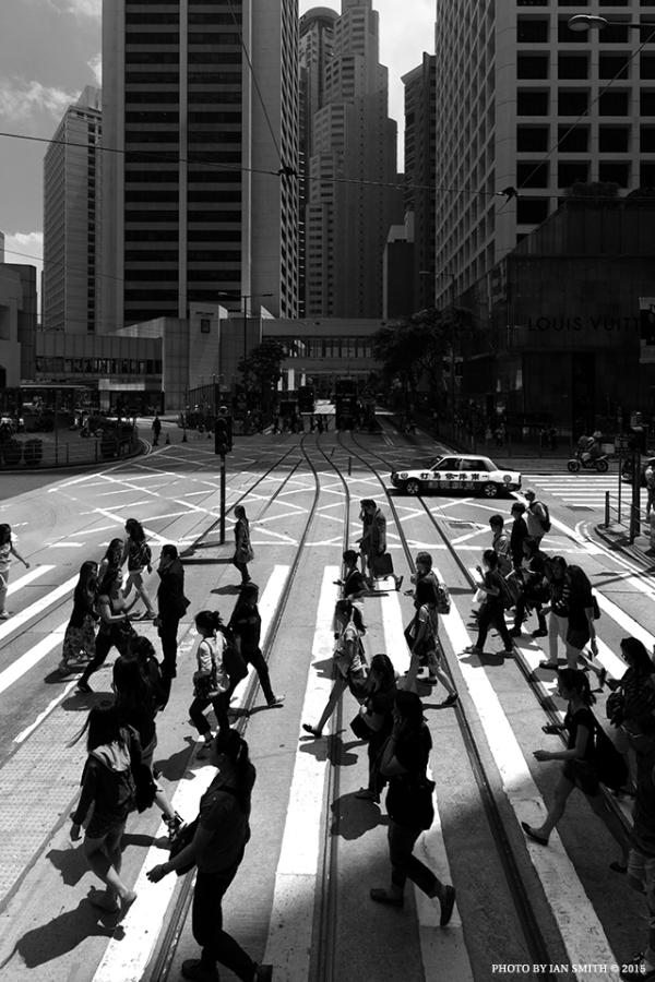 Shadows in Central, Hong Kong