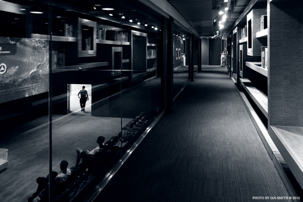 Inside City Gallery, Hong Kong