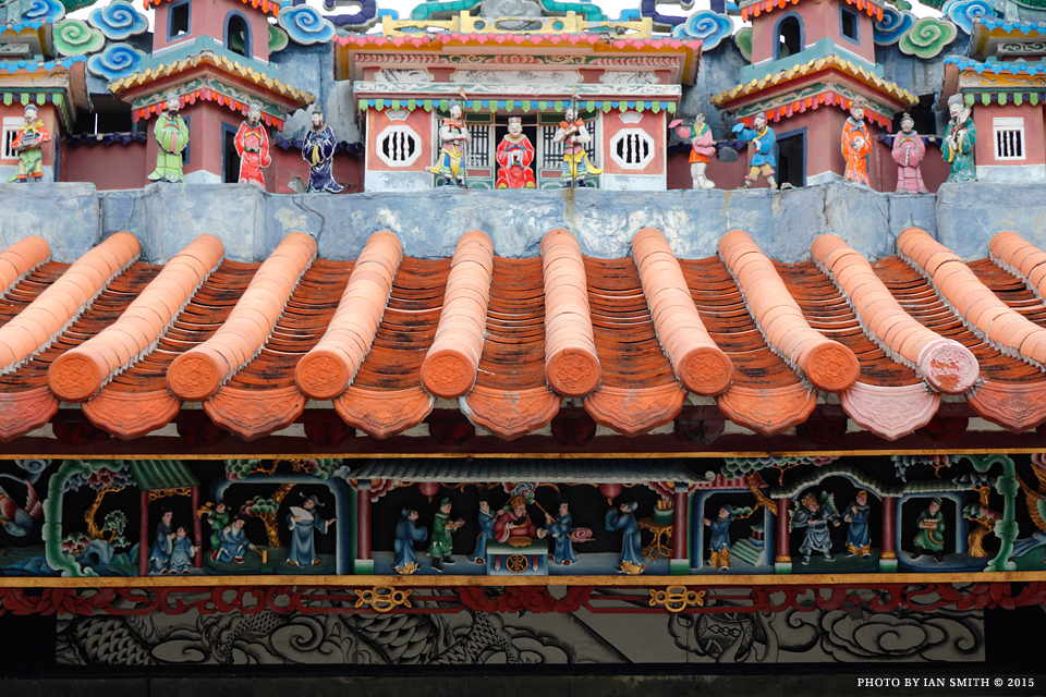 Roof details of Pak Tai Temple, Cheung Chau