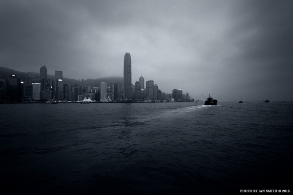 Riding the Star Ferry in Hong Kong