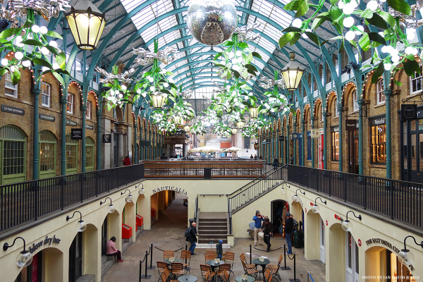 Christmas at Covent Garden Market 2015