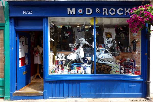 Mod & Rock Shop in Canterbury, Kent