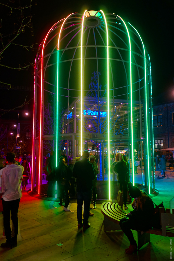 Lumiere London at King's Cross 2016