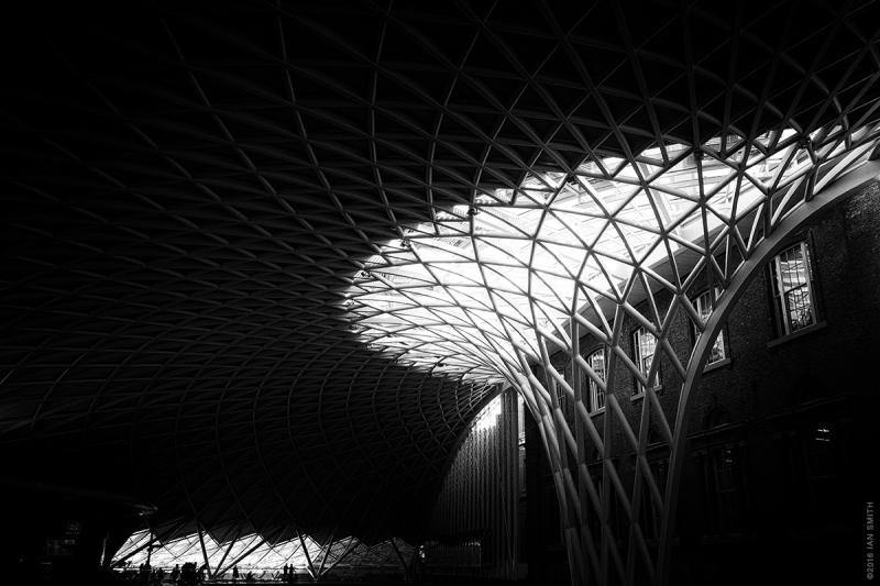 Shadows of London King's Cross Station
