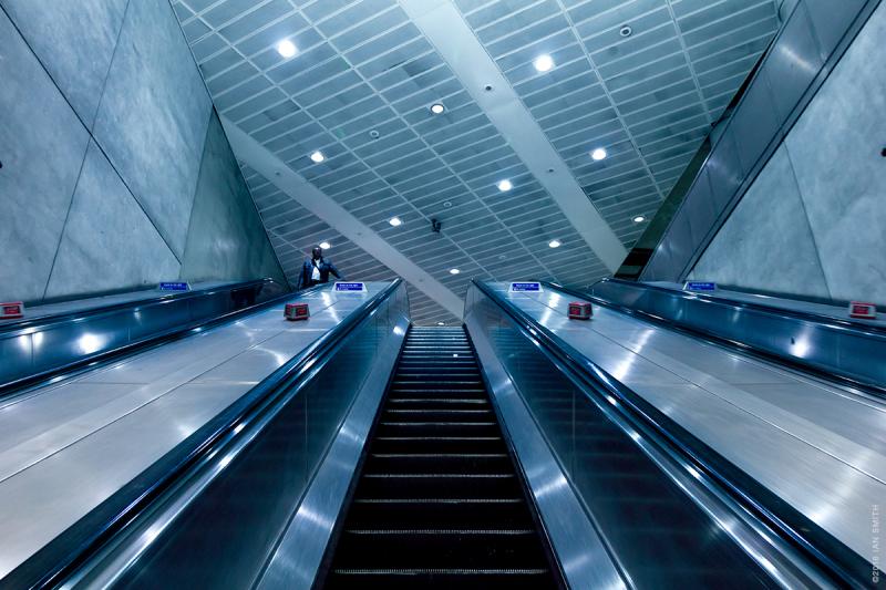 London Bridge Escalator