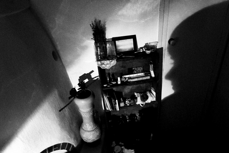 shadow, face, room, home