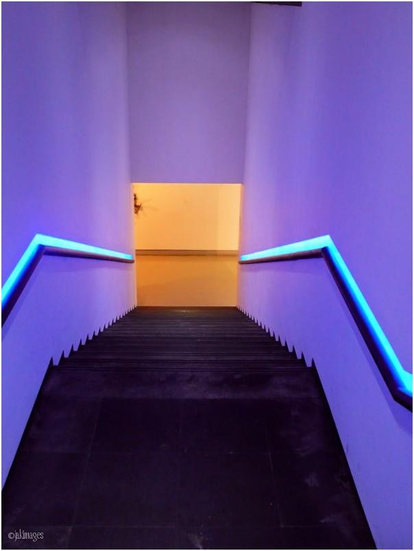 L'escalier du Musée (Mamac)