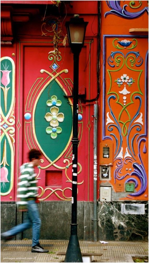 Rue colorée- Buenos Aires