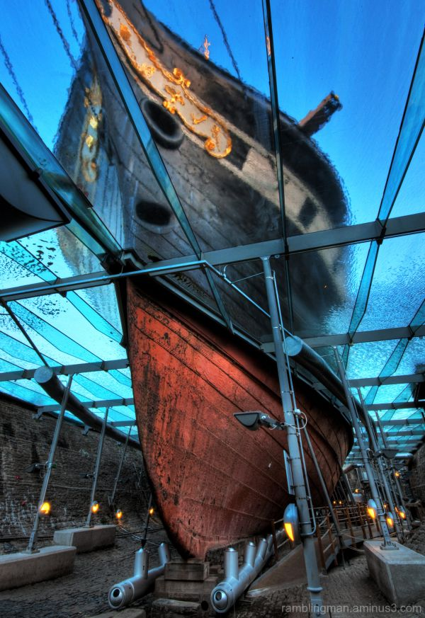 HDR image of the SS Great Britian