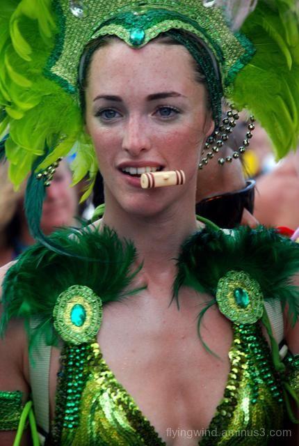 lady in carnival
