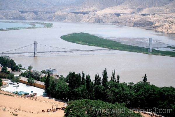 One=Yellow river+ desert+mountains+ grassland