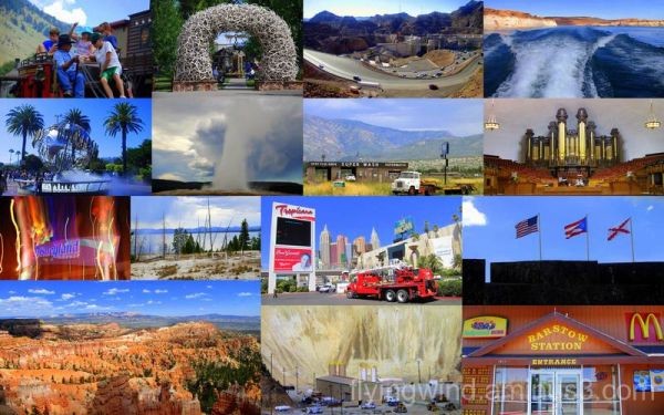 Wonderful trip in U.S.A