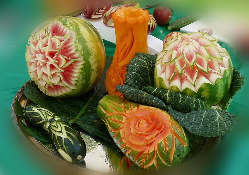 Manger 5 fruits et l gumes par jour food cuisine for Decoupe fruit decoration