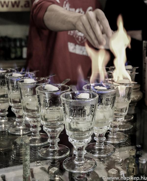 Absinth bar I.