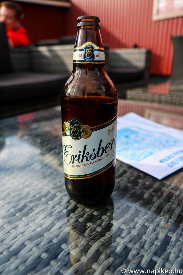 first beer in Sweden :)