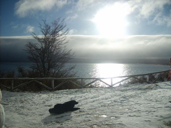 Lago fagnano invierno