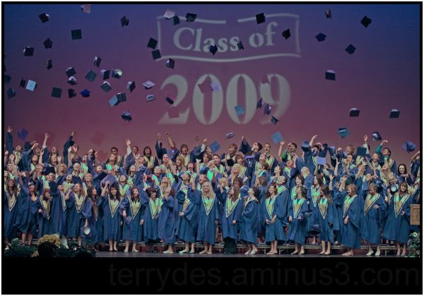 The Titan 2009 Graduation - We're Done!
