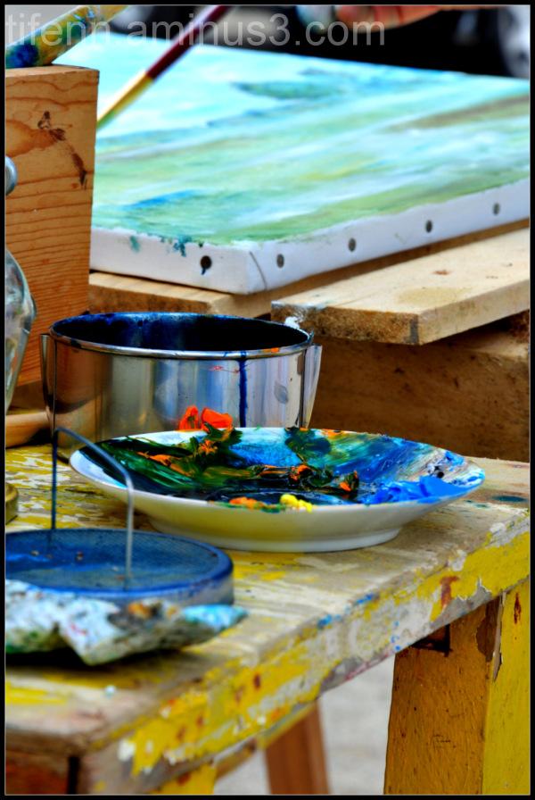 Colors of sea