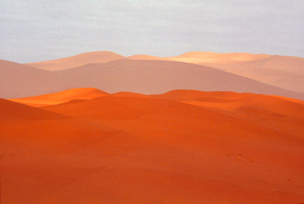 Impression désert