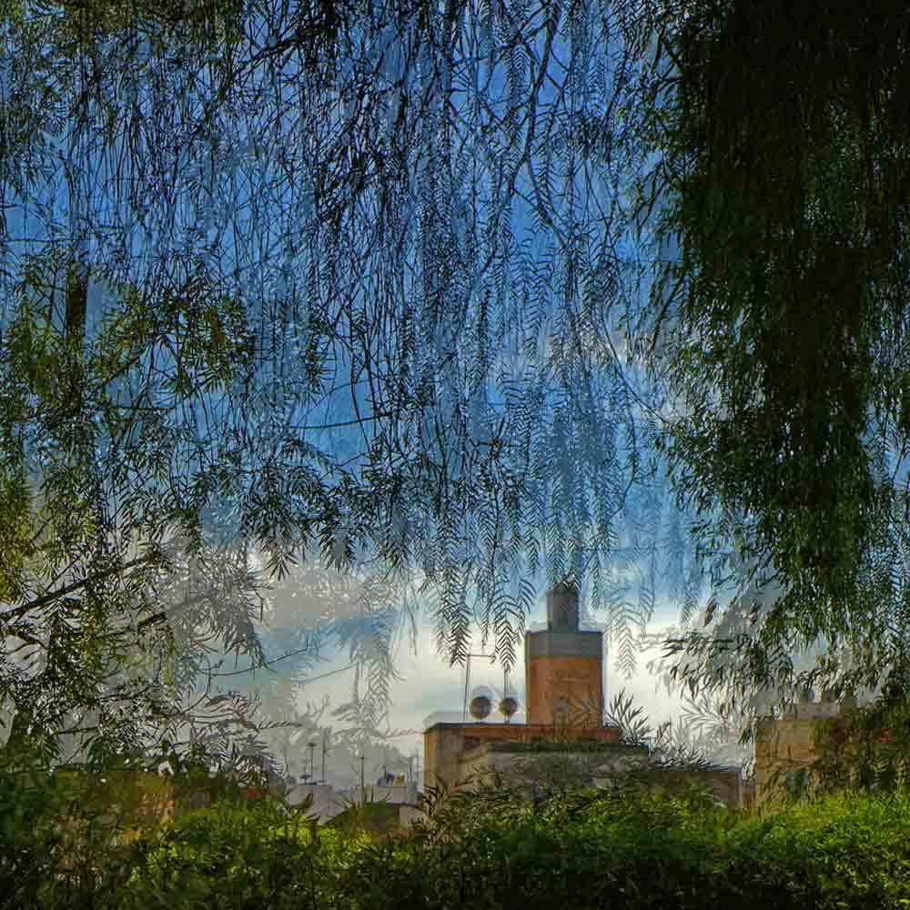 Minaret du parc